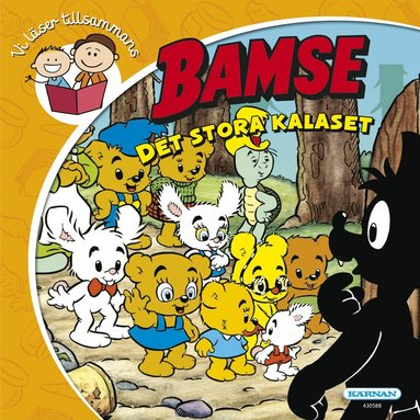 bokomslag Bamse: Det stora kalaset