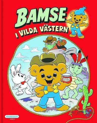 bokomslag Bamse i vilda västern