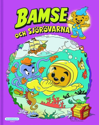 bokomslag Bamse och sjörövarna