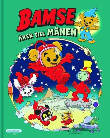 bokomslag Bamse åker till månen