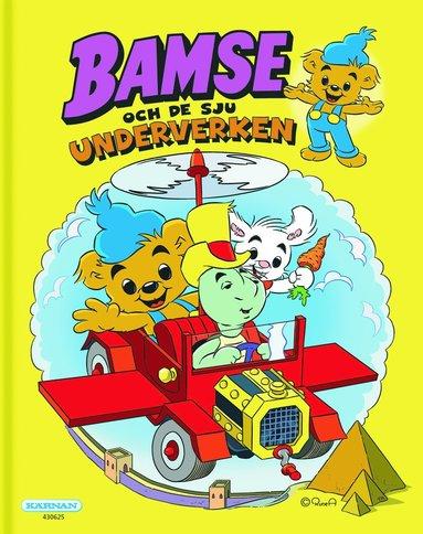 bokomslag Bamse och de sju nya underverken