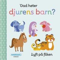 bokomslag Vad heter djurens barn?