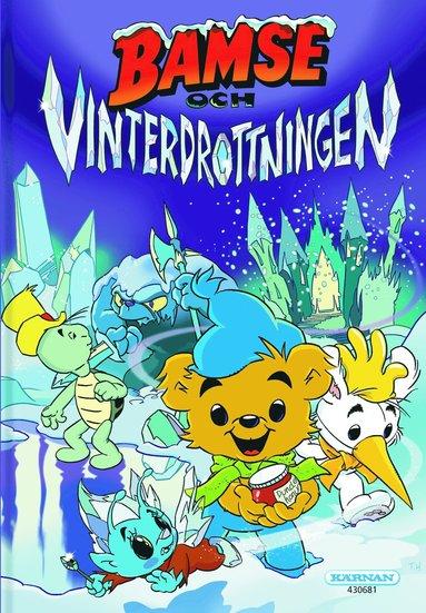 bokomslag Bamse och vinterdrottningen