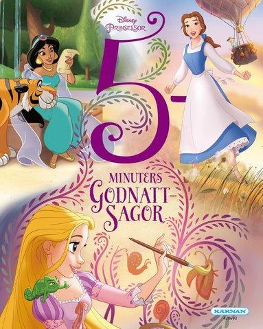 bokomslag 5 minuters godnattsagor - Prinsessor