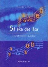 bokomslag Så ska det låta - arbetsbok