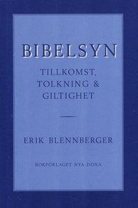 bokomslag Bibelsyn : Tillkomst, tolkning och giltig