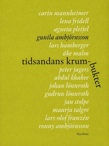 bokomslag Tidsandans krumbukter