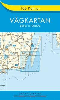 bokomslag 106 Kalmar Vägkartan : 1:100000