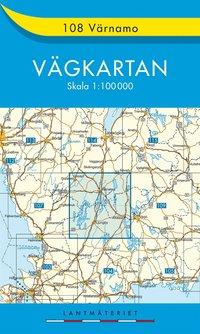 bokomslag 108 Värnamo vägkartan