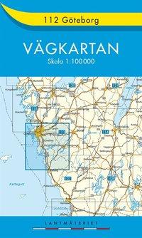 112 Göteborg Vägkartan : 1:100000