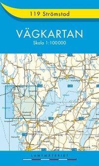 119 Strömstad Vägkartan : 1:100000