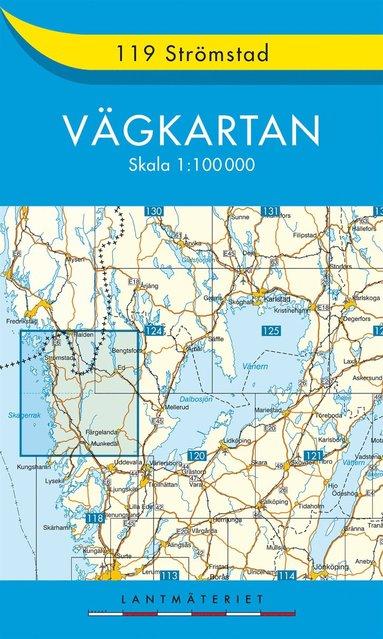 bokomslag 119 Strömstad Vägkartan : 1:100000