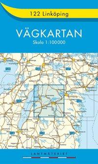 bokomslag 122 Linköping Vägkartan : 1:100000