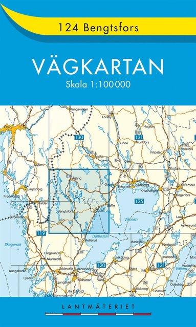 bokomslag 124 Bengtsfors Vägkartan : 1:100000