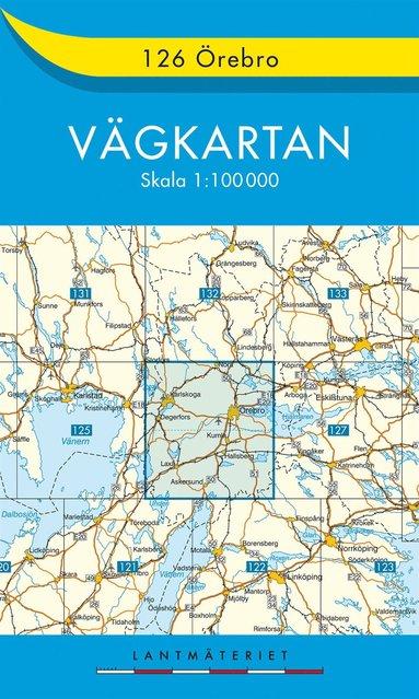 bokomslag 126 Örebro Vägkartan