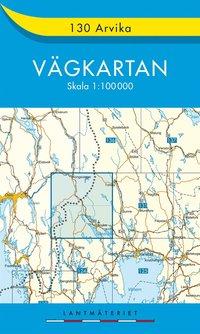 bokomslag 130 Arvika Vägkartan : 1:100000