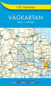 bokomslag 133 Västerås vägkartan