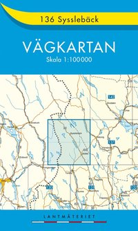 bokomslag 136 Sysselbäck vägkartan