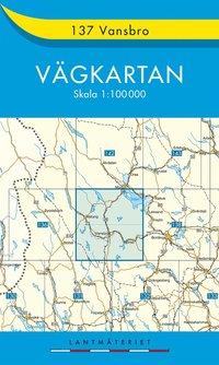 bokomslag 137 Vansbro Vägkartan : 1:100000