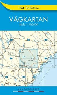 bokomslag 154 Sollefteå Vägkartan : 1:100000