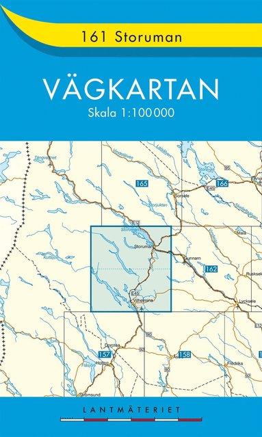bokomslag 161 Storuman Vägkartan : 1:100000