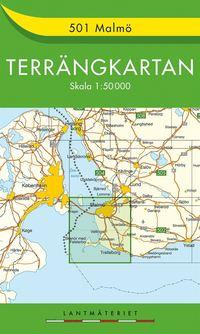 501 Malmö Terrängkartan : 1:50000