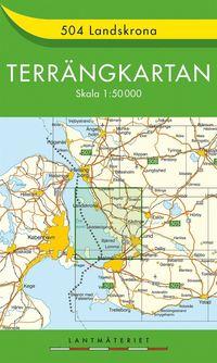 bokomslag 504 Landskrona Terrängkartan : 1:50000
