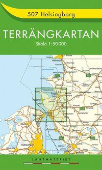 507 Helsingborg Terrängkartan : 1:50000