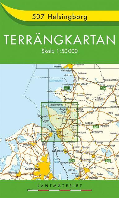 bokomslag 507 Helsingborg Terrängkartan : 1:50000