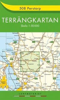 bokomslag 508 Perstorp Terrängkartan : 1:50000