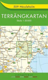 bokomslag 509 Hässleholm Terrängkartan : 1:50000