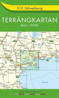 510 Sölvesborg Terrängkartan : 1:150000