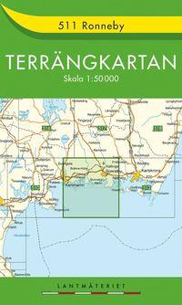 511 Ronneby Terrängkartan : 1:50000