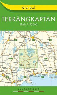 bokomslag 516 Ryd Terrängkartan : 1:50000