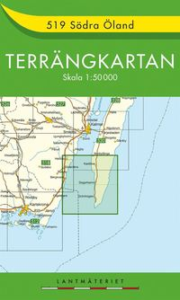 bokomslag 519 Södra Öland Terrängkartan : 1:50000