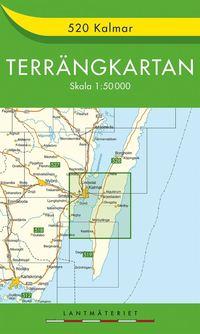 bokomslag 520 Kalmar Terrängkartan : 1:50000