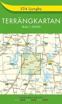 524 Ljungby Terrängkartan : 1:50000