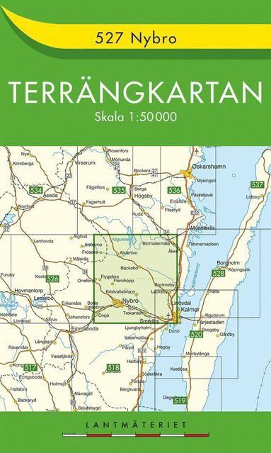 bokomslag 527 Nybro Terrängkartan : 1:50000