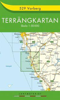 bokomslag 529 Varberg Terrängkartan : 1:50000