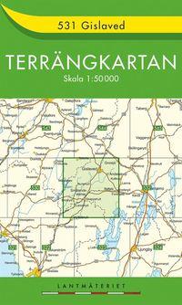 bokomslag 531 Gislaved Terrängkartan : 1:50000