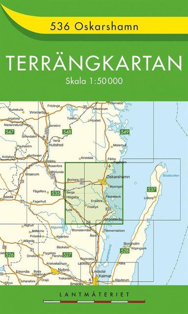 bokomslag 536 Oskarsham Terrängkartan : 1:50000