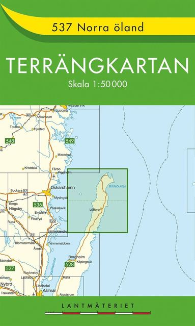 bokomslag 537 Norra Öland Terrängkartan : 1:50000