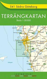 bokomslag 541 Södra Göteborg Terrängkartan : 1:50000