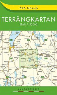 546 Nässjö Terrängkartan : 1:50000