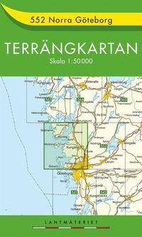 552 Norra Göteborg Terrängkartan : 1:50000