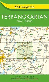 bokomslag 554 Vårgårda Terrängkartan : 1:50000
