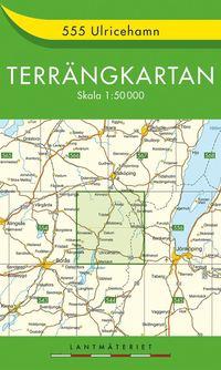 bokomslag 555 Ulricehamn Terrängkartan : 1:50000