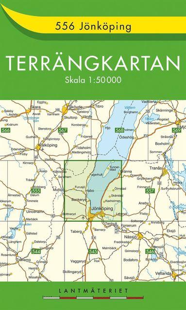 bokomslag 556 Jönköping Terrängkartan : 1:50000