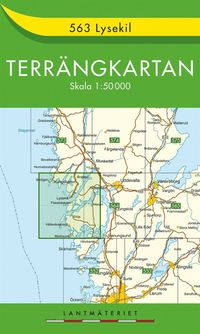 563 Lysekil Terrängkartan : 1:50000