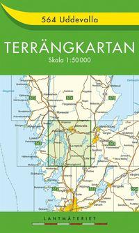 bokomslag 564 Uddevalla Terrängkartan : 1:50000